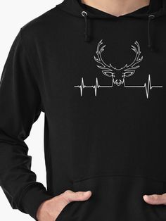 Deer Hunting Hoodie! Hunting t-shirts, mugs, sweatshirts and other things and gifts.  I love deer hunting, deer shirts for men, deer hunting tee shirts, deerhunter shirt, browning clothing, funny deer t-shirt