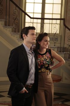 """""""The Fasting and the Furious"""", episode season Pictured (L-R) Hugo Becker as Louis and Leighton Meester as Blair Waldorf Gossip Girls, Estilo Gossip Girl, Gossip Girl Outfits, Gossip Girl Fashion, Blair Fashion, Fashion Tv, Fashion Photo, Fashion News, Nate Archibald"""
