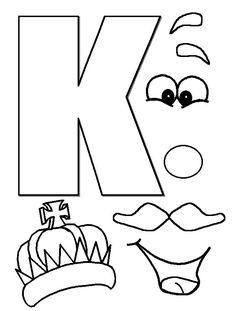 25 best ideas about letter k crafts on letter Letter K Crafts, Preschool Letter Crafts, Abc Crafts, Alphabet Crafts, Kindergarten Crafts, Alphabet Art, Preschool Lessons, Alphabet Activities, Preschool Activities