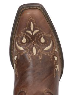 Crush by Durango Women's Sandy Brown Sew Sassy Snip Toe Western | Cavender's