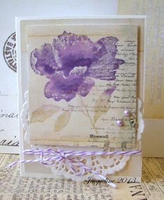 Purple flower by Jacqueline.fr, via Flickr