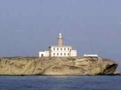 Faro de la Isla de Alborán / Andalucía / Spain