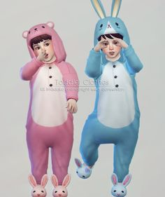 Imadako toddler animal night wear for The Sims 4 Sims 4 Toddler Clothes, Sims 4 Cc Kids Clothing, Sims 4 Mods Clothes, Girl Clothing, Toddler Outfits, Toddler Girls, Girl Outfits, Sims 2, Sims 4 Cas
