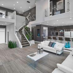 Contemporary Interieur Design Wohnzimmer #Wohnung
