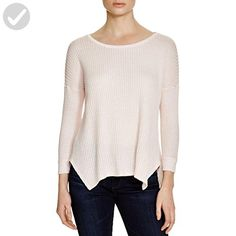 VELVET BY GRAHAM & SPENCER Women's Thermal Knit 3/4 Sleeve Top, Light Pink, X-Small - All about women (*Amazon Partner-Link)