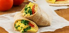 Ready in minutes, this nutritious wrap is perfect for an easy lunch, or an on-the-go breakfast!