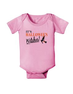 TooLoud It's Halloween Witches Baby Romper Bodysuit