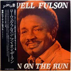 LOWELL FULLSON / MAN ON THE RUN / BLUES / JEWEL / P-VINE JAPAN OBI