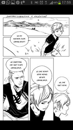 From cassandrajp tumblr.  Sebastian and Valentine #the mortal instruments