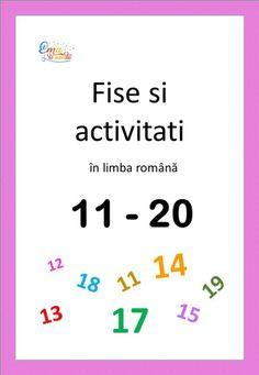 Numerele de la 11 la 20, cum explicam formarea numerelor Teacher, Math Equations, Places, Alphabet, Professor, Teachers, Lugares