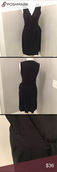 """Banana Republic faux wrap dress Excellent condition. 39"""" long from the retail store Banana Republic Dresses"""