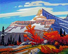 Nicholas Bott OIL Mount Christie Canadian Painters, Canadian Artists, Oil Painting Pictures, Art Pictures, Landscape Quilts, Landscape Paintings, Landscapes, Outdoor Wall Art, Beautiful Artwork