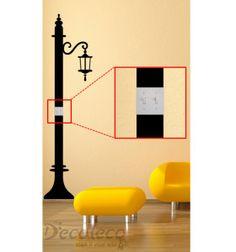 Street Light Switch Decal