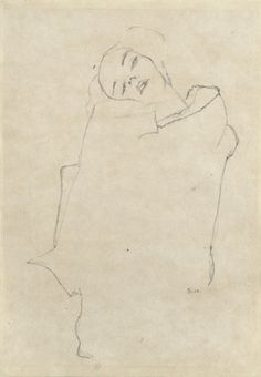 egon schiele 1910 - ORIGINAL PINNER SAYS: Have always loved Egon Schiele, even slightly more than Klimt, there's a beauty to those sharp corners and crude edges. Gustav Klimt, Art And Illustration, Figure Drawing, Painting & Drawing, Art Sketches, Art Drawings, Kunst Online, Graphite Drawings, Art Graphique