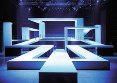 Example of Form ----------- This is an awesome stage @ Friedrichstadtpalast 01 2010 by MICHALSKY stage design Interaktives Design, Booth Design, Event Design, Design Room, Stage Set Design, Set Design Theatre, Exhibition Stand Design, Exhibition Display, Cat Walk