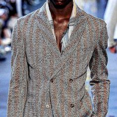 Missoni double breasted jacket - with shirt please !