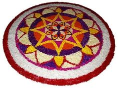 50 Best Pookalam Designs For Onam Festival