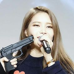 Solar is not even caring. Funny Kpop Memes, Bts Memes, Meme Faces, Funny Faces, K Pop, Reaction Pictures, Funny Pictures, Gun Meme, Upbeat Songs
