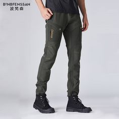 COUNTRY WEAR THERMAL LINED WARM COMBAT CARGO WALKING HIKING ACTION TROUSERS