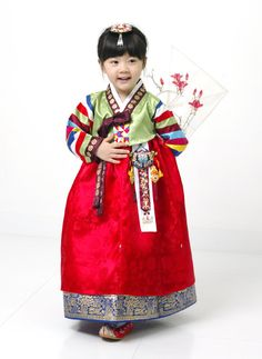 I had a Hanbok just like this when I was a little girl. :)