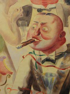 George Grosz. German Expressionism and Dadaism