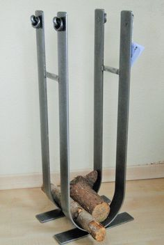 Belltrees Forge contemporary wrought iron Jacobean log stack made in Scotland in stock for next day dispatch Firewood Stand, Firewood Holder, Log Store Indoor, Log Holder, Country Kitchen Farmhouse, Iron Work, Home Decor Online, Metal Fabrication, Wood Storage