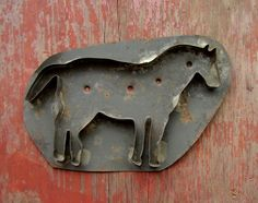 Large horse cookie cutter