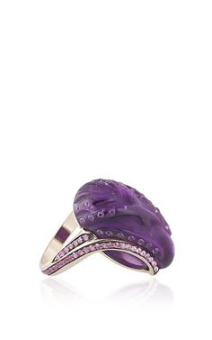 Noor Fares - Fly Me To The Moon Glyptique Ring