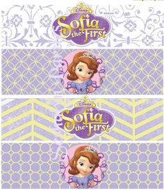 Sofia The First Free Party Printables - Seshalyn's DIY Party IdeasSeshalyn's DIY…