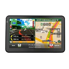 Quanmin 7inch HD Screen Hand-held Car GPS Navigation DDR128RAM 8G Memory 800MHZ Fm Window CE 6.0 load With Newest USA Canada Mexico 3D Map