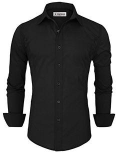 92b9e7e7 Tom's Ware Mens Casual Slim Fit Button Down Shirt TWFD001-1-CS05-WINE-US  XXL: Amazon.co.uk: Clothing