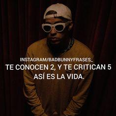 "7,979 Likes, 36 Comments - BADBUNNYPR (@badbunnyfrases_) on Instagram: "" #Badbunny"""