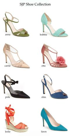SJP Shoe Collection- Perfect for Spring! Love her shoes they are amazingly comfortable
