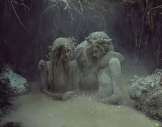 picture prompt: Ice maidens.