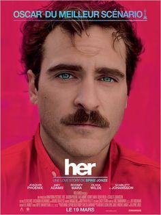 """""""Her"""", un drame de Spike Jonze, avec Joaquin Phoenix, Scarlett Johansson & Amy Adams (03/2014)"""