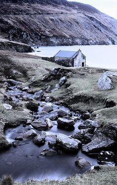 Keem Strand, Achill Island, County Mayo; photo by Larissa O'Duffy