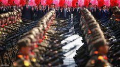 عرض خيالي للقوات كورية الشمالية - العقل السليم