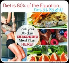 The 7-Day Shredding Meal Plan! | My Fit Station