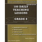 Easy Grammar Ultimate Series: 180 Daily Teaching Lessons, Grade 8 Teacher Text