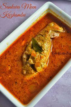 Red Snapper Fish Curry Recipe | Sankara Meen Kuzhambu Recipe