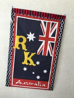 First laundry bag I made for Aussie Hero Quilt Flag Quilt, Quilt Blocks, Australian Flags, Laundry, Hero, Quilts, Bag, Cards, Ideas