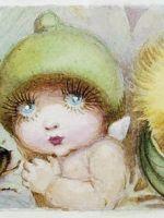 hattersmorningtea Australian Native Flowers, Australian Artists, Nursery Rhymes, Nursery Art, Bird People, Nostalgic Images, Fairy Pictures, Artists For Kids, Baby Tattoos