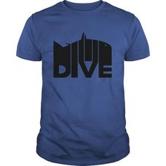 Awesome Diving Lovers Tee Shirts Gift for you or your family member and your friend:  Dive Shark Tee Shirts T-Shirts