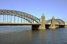 Bolsheoktensky Bridge St. Petersburg