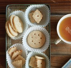 Vitamix | Shortbread Cookies   ~~~   It isn't a holiday gathering without the ever-popular shortbread cookie—an easy-to-make recipe using your Vitamix.