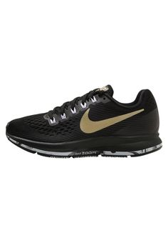 low priced fd5e2 2c0d8 Nike Performance. AIR ZOOM PEGASUS 34 - Laufschuh Neutral -  black anthracite dark