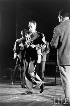 Albert Camus, dancing.