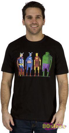 8-Bit Avengers Shirt
