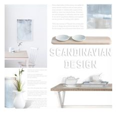 """""""Scandinavian Design Contest! Enter!"""" by kearalachelle ❤ liked on Polyvore featuring interior, interiors, interior design, home, home decor, interior decorating, Bitossi and LSA International"""