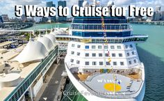 A free cruise? Sounds too good to be true? There are actually a number of legitimateways where you can cruise for free. While some do require work on your end, hereare the 5 different ways you can cruise without having to pay for your cruise fare. Tour Conductor Credits – The number one way that …